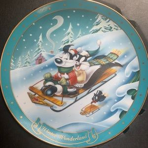 Warner Bros Collectible Plates 90s Limited Ed